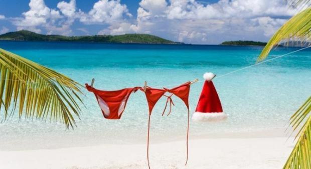 navidad-en-la-playa